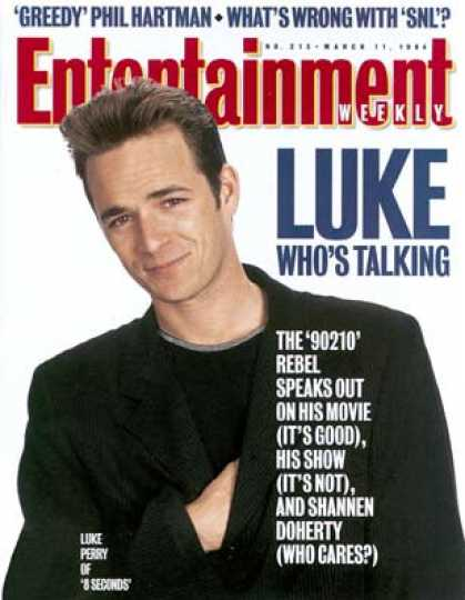 Entertainment Weekly - Luke Before He Leaps