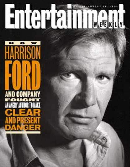 Entertainment Weekly - After Surviving One Clash With Tom Clancy, Harrison and the 'patriot Games' Team