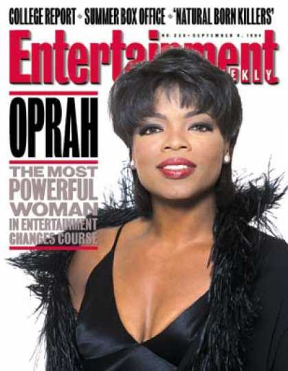 Entertainment Weekly - Oprah Act Two