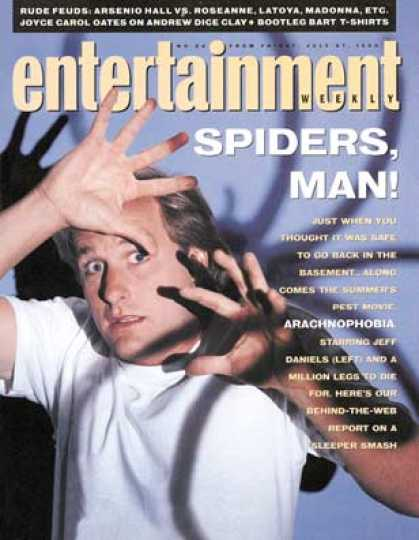 Entertainment Weekly - Jeff Daniels Bugs Out