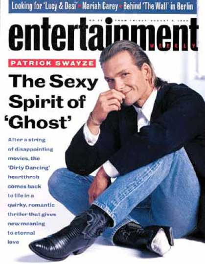 Entertainment Weekly - Patrick Swayze Back In Step