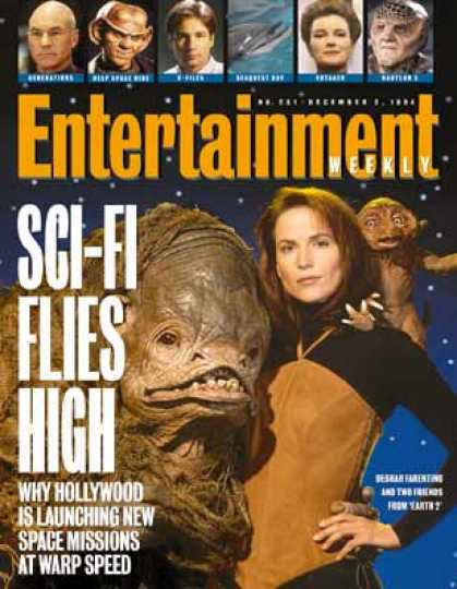 Entertainment Weekly - Sci-fi Invades Hollywood