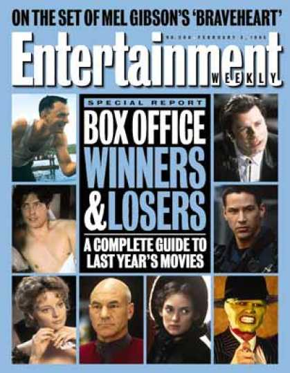 Entertainment Weekly - 1994 Box Office Report: Gump & Gumper