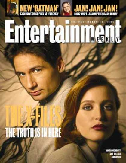 Entertainment Weekly - The X-files Exposed