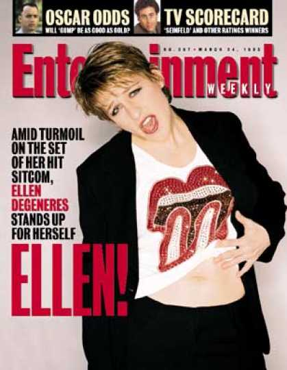 Entertainment Weekly - Will the Real Ellen Please Stand Up?