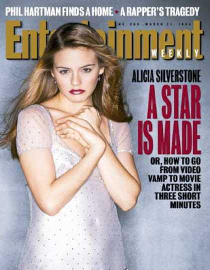 Entertainment Weekly - The Making of Alicia Silverstone