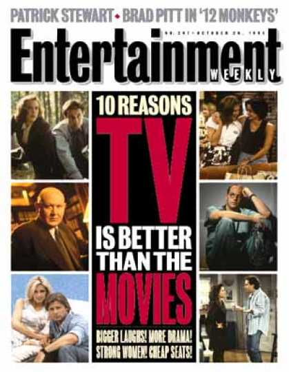 Entertainment Weekly - Tv Saves the World!