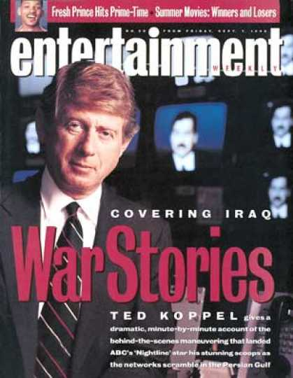 Entertainment Weekly - Ted Koppel: 'nightline' On the Front Lines