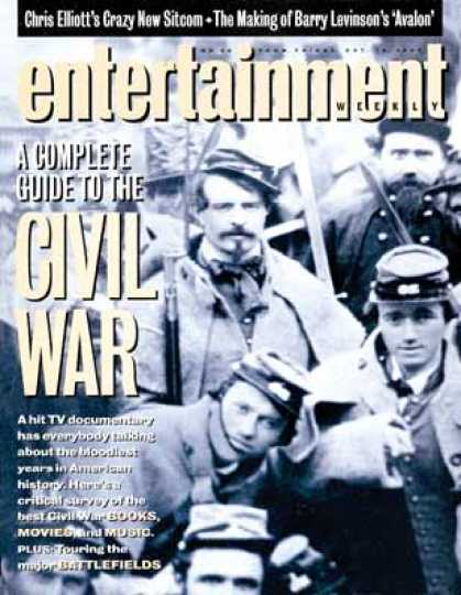 Entertainment Weekly - Reexamining the Civil War