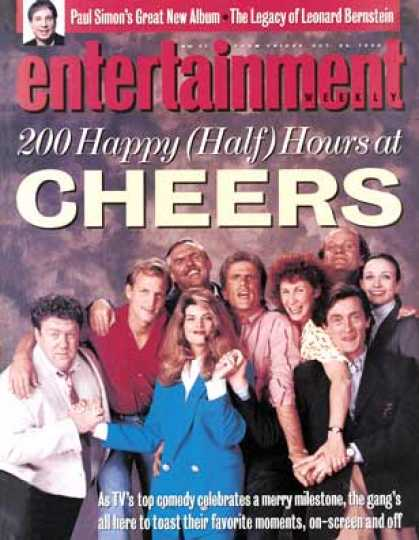 Entertainment Weekly - Cheers!