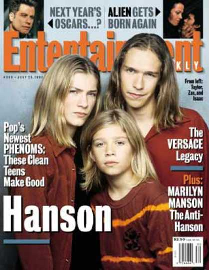 Entertainment Weekly - Hanson