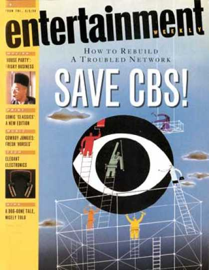 Entertainment Weekly - Save Cbs: The Experts Offer Some Turnaround Tips. and So Do We.