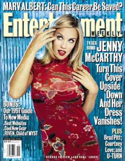 Entertainment Weekly - Jenny On the Spot