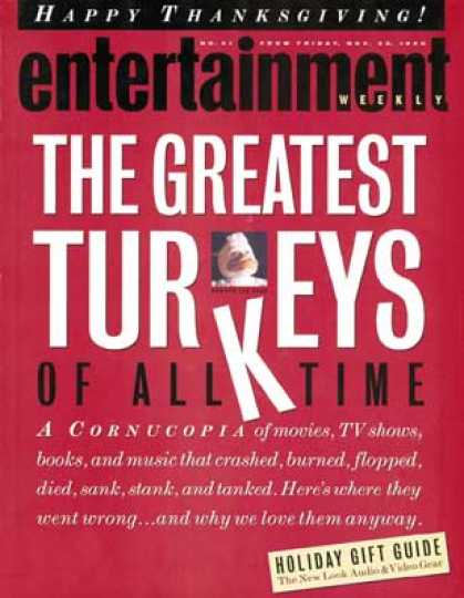Entertainment Weekly - Turkeys!