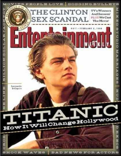 Entertainment Weekly - In the Wake of Titanic