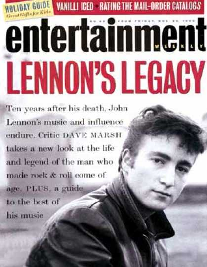Entertainment Weekly - Lennon