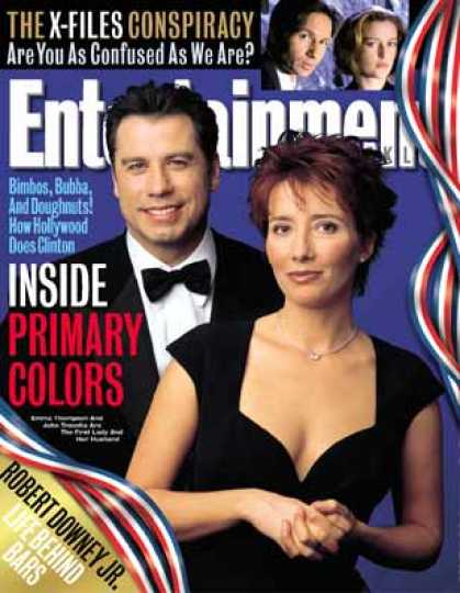 Entertainment Weekly - The Faking of the President 1998