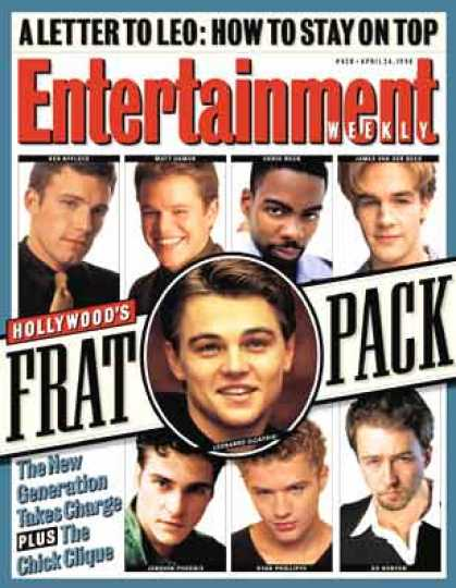 Entertainment Weekly - Introducing the Frat Pack