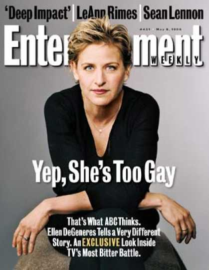Entertainment Weekly - As Gay As It Gets?