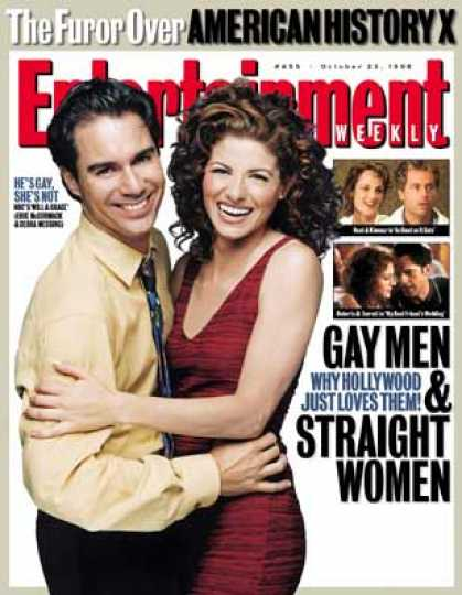 Entertainment Weekly - When Gay Men Happen To Straight Women