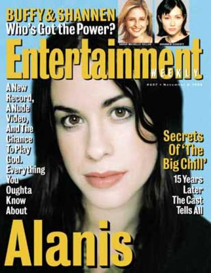 Entertainment Weekly - The Second Coming of Alanis
