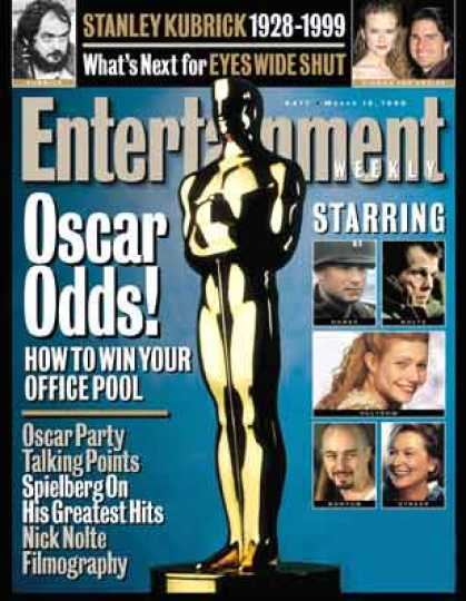 Entertainment Weekly - Oscar Odds: Best Actress