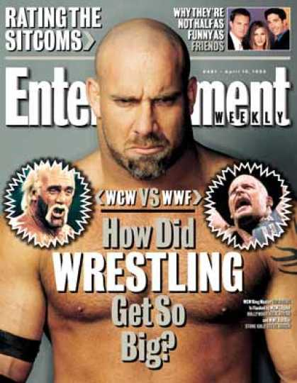 Entertainment Weekly - Wwf Vs. Wcw