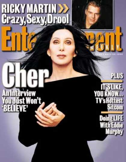 Entertainment Weekly - Hip To Be Cher