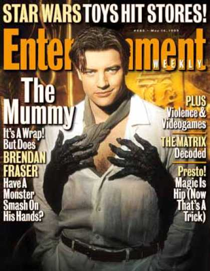 Entertainment Weekly - Show Me the Mummy