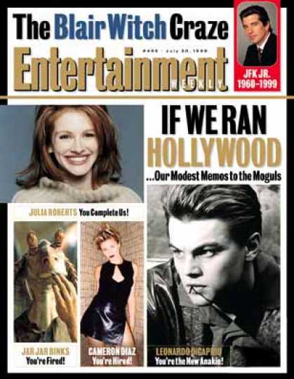 Entertainment Weekly - If We Ran Hollywood