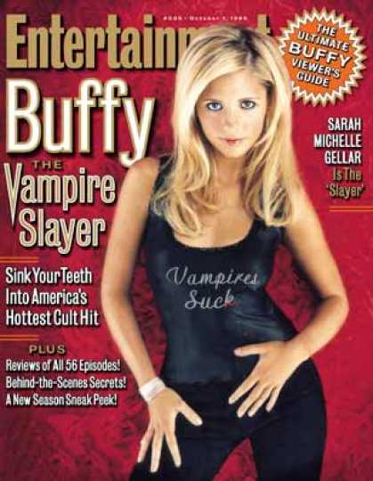 Entertainment Weekly - The Boo! Crew Truth Be Told, Sunnydale Is Home To More Than One Scooby Gang. Bu