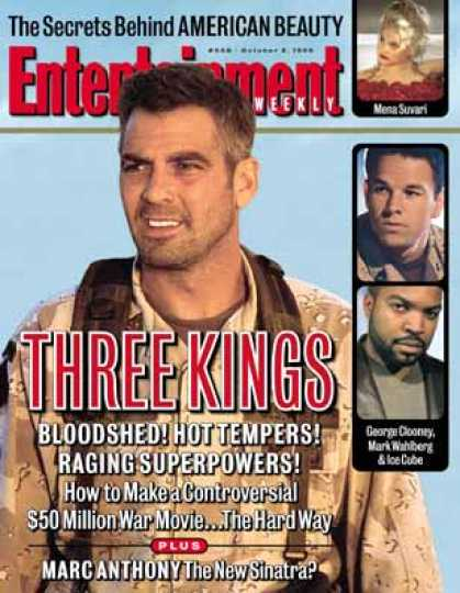 "Entertainment Weekly - On the Set of Desert Storm Movie ""three Kings"" (1999)"