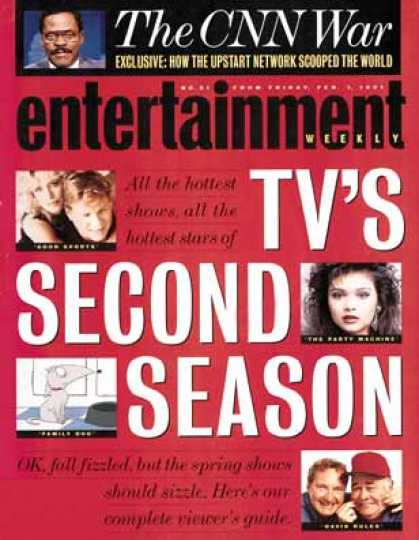 Entertainment Weekly - A Face To Watch: Debrah Farentino