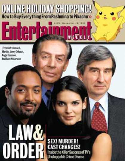 Entertainment Weekly - The Long Arm of the Law