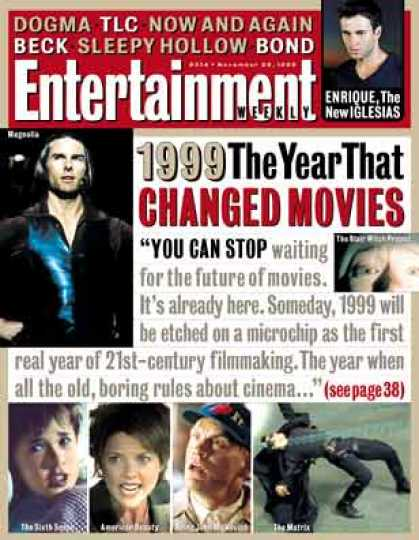 Entertainment Weekly - 1999: The Year That Changed Movies