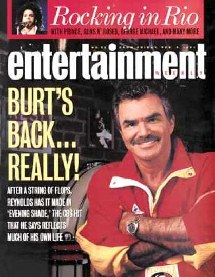 Entertainment Weekly - Burt Made In the 'shade'