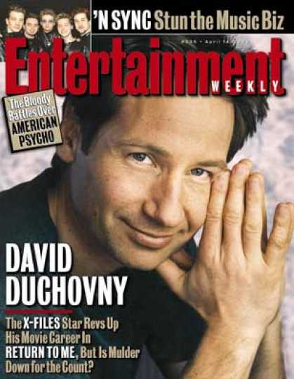 Entertainment Weekly - David Duchovny Files A Return