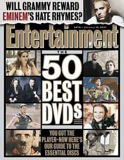 "Entertainment Weekly - The 50 Essential Dvds [bracket ""1-25""]"