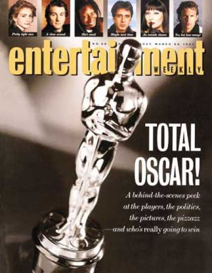 Entertainment Weekly - Behind the Oscar