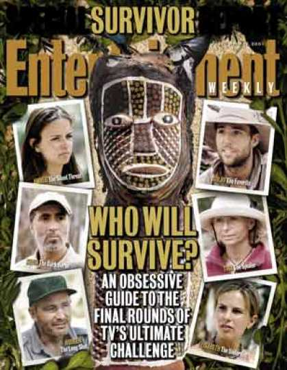 Entertainment Weekly - Fire & Rice