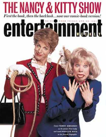 Entertainment Weekly - Kitty Kelley First Lady of Scandal