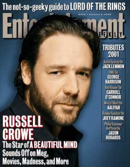 "Entertainment Weekly - Russell Crowe Gives Ew A Piece of His ""mind"""