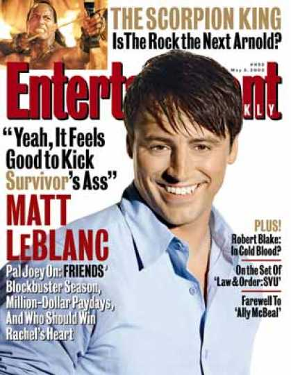 Entertainment Weekly - Filling In Leblanc