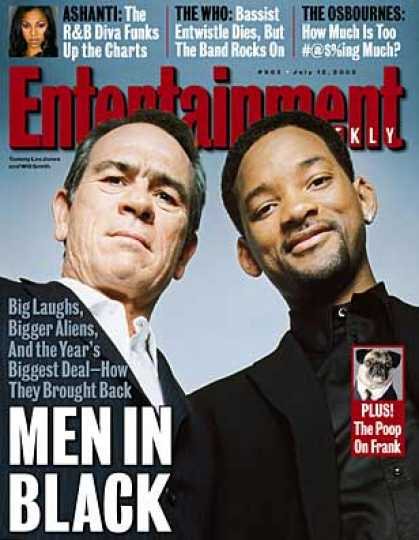 "Entertainment Weekly - Tracking the Spacey Trip of ""men In Black Ii"""