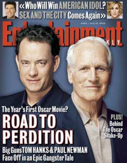 Entertainment Weekly - Tom Hanks and Paul Newman On Playing Bad Guys