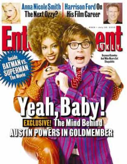 "Entertainment Weekly - Will ""goldmember"" Give Mike Myers the Midas Touch?"