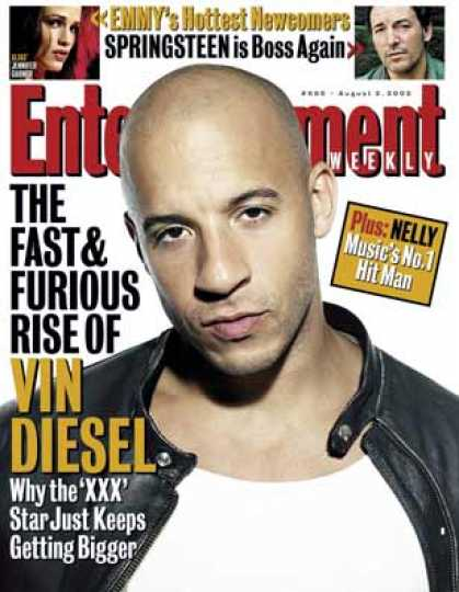 "Entertainment Weekly - Vin Diesel On ""xxx"" and His Fast & Furious Rise"