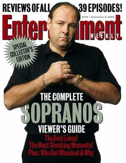 "Entertainment Weekly - What You Need To Know Before ""sopranos"" Starts"