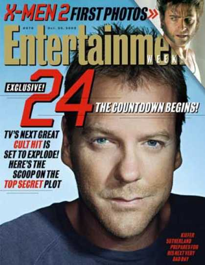"Entertainment Weekly - Get the Inside Scoop On ""24""'s Next Hours"