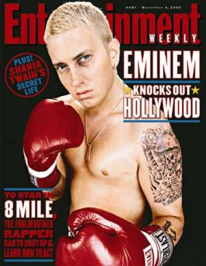 "Entertainment Weekly - How Eminem Brought His Sound and Fury To ""8 Mile"""